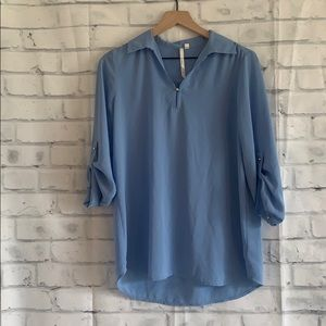 Bellatrix Blue Blouse